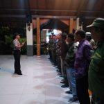 Anggota Bhabin Desa Pendem Polsek Junrejo Polres Batu Bersama 3 Pilar Hadiri Konsolidasi dan Pembekalan Kepada Linmas.