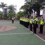 Kegiatan Apel Pagi Satlantas Polres Batu Tingkatkan Kinerja Anggota sebelum pelaksanaan tugas