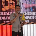 Kapolres Batu melaksanakan kegiatan Tasyakuran HUT Polres Batu ke 15 Tahun 2018 dan Penerimaan Penghargaan WBK dari Kemenpan RB