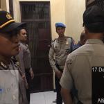 Tingkatkan Pengamanan Mako, Polres Batu Laksanakan Kegiatan Kontrol Tahanan