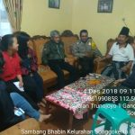 Silaturahmi Bersama Tokoh Adat Bhabinkamtibmas Kelurahan Songgokerto Polsek Batu Polres Batu