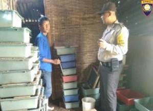 Bhabinkamtibmas Tatap Muka dan DDS, Bhabinkamtibmas Kelurahan Songgokerto Polsek Batu KotaPolres Batu