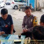 Kegiatan Tatap Muka dan DDS, Sambang Kelompok Ojek Online Bhabinkamtibmas Polsek Batu Kota Sampaikan Pesan Kamtibmas