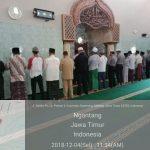 Tingkatkan Silaturahmi, Polsek Ngantang Polres Batu Shalat Bersama Warga