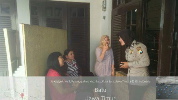 Silaturahmi Warga Perumahan Bhabinkamtibmas Desa Pesanggrahan Polsek Batu Kota