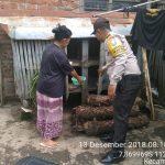 Door To Door System Sambang Kerukunan Warga Bhabin Kelurahan Songgokerto Polsek Batu