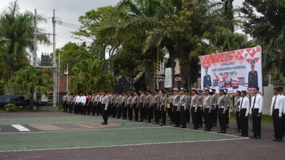 Polres Batu Laksanakan Upacara Hari Kesadaran Nasional