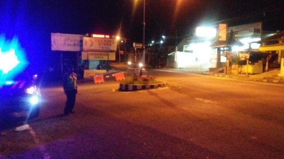 Guna Tingkatkan Keamanan, Polsek Junrejo Polres Batu Tingkatkan Patroli Malam