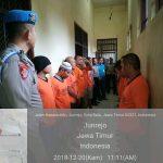 Polres Batu Tingkatkan Kontrol Tahanan dan Juga Cek Kondisi Tahanan
