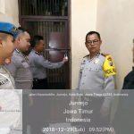Polres Batu Tingkatkan Kontrol Tahanan Cek Kondisi Tahanan