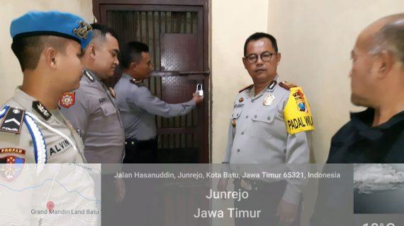 Giat Pengamanan Mako, Polres Batu Tingkatkan Kontrol Tahanan Cek Kondisi Tahanan