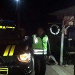 Polsek Junrejo Polres Batu Tingkatkan Patroli Malam Ciptakan Situasi Kondusif
