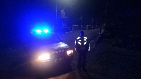 Polsek Pujon Polres Batu Tingkatkan Patroli Malam Ciptakan Situasi Kondusif