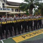 Menjaga Kesiap Siagaan Anggota, Polres Batu Melaksanakan Latihan Dalmas