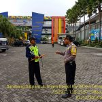 Tingkatkan Pam Swakarsa Bhabinkamtibmas Kelurahan Temas Polsek Batu Kota melaksanakan koordinasi dengan Satpam
