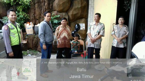 Kergiatan Pengamanan Tempat Ibadah, Polsek Batu Polres Batu Laksanakan Pengamanan Lokasi