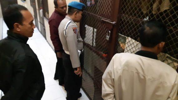 Polres Batu Tingkatkan Kontrol Tahanan Amankan Mako