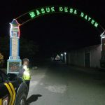 Anggota Polsek Bumiaji Polres Batu Giat Patroli Malam