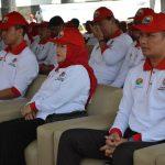 Kapolres Batu Hadiri Acara Peringatan Hari Menanam Pohon Indonesia ( HMPI ) Dan Bulan Menanam Nasional ( BMN ) tingkat Provinsi Jawa timur