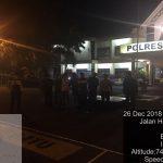 Tingkatkan Keamanan Mako,  Polres Batu Patroli Mako Rutin Di Malam Hari