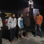Polsek Batu Polres Batu Patroli Malam Berikan Kenyamanan Kepada Msyarakat Binaan