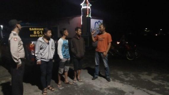 Menjaga Keamanan, Polsek Ngantang Polres Batu Giatkan Patroli Malam