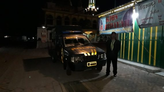 Jaga Wilayah Kondusif, Polsek Pujon Polres Batu Giatkan Patroli Malam