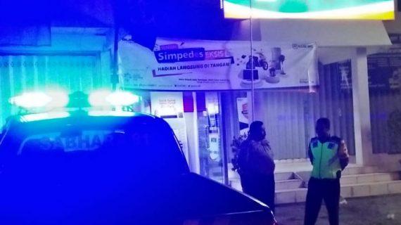 Jaga Wilayah Kamtibmas,Anggota Polsek Kasembon Polres Batu Giatkan Patroli Malam