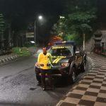 Tingkatkan Sitkamtibmas Yang Kondusif, Polsek Pujon Polres Batu Giatkan Patroli Malam Hari