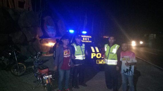 Patroli Polsek Junrejo Polres Batu Giatkan Patroli Malam