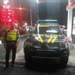 Anggota Polsek Batu Polres Batu Giatkan Patroli Malam Jaga Kamtibmas Wilayah Binaan