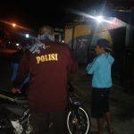 Anggota Polsek Junrejo Polres Batu Laksanakan Patroli Malam Guna Jaga Kamtibmas