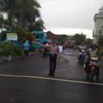 Anggota Polsek Junrejo Polres Batu Poros Pagi Di Simpul Simpul Jalan