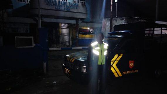 Polsek Ngantang Polres Batu Tingkatkan Patroli Malam Jaga Situasi Kondusif Di Malam Hari