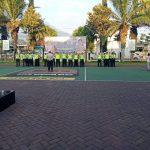 Tingkatkan Kedisiplinan Anggota, KBO Satlantas Polres Batu Apelkan Rutin Anggota