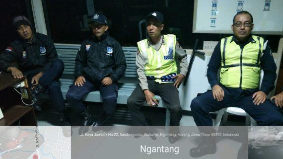 Polsek Ngantang Polres Batu Tingkatkan Patroli Malam Ciptakan Rasa Aman