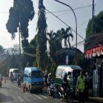 Giat Pelayanan Pagi, Polsek Bumiaji Polres Batu Poros Pagi Bantu Kelancaran Arus Lalin di Wilayahnya