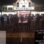 Tingkatkan Pengamanan Mako, Polres Batu Patroli Mako Ciptakan Simansif
