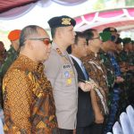 Kapolres Batu AKBP Budi Hermanto, S.I.K, M.Si Menghadiri Upacara Serah Terima Jabatan Pangdivif 2 Kostrad