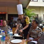Bukan Ajang Untuk Bersedih, Polres Batu Menggelar Acara Makan Bersama Purnawirawan