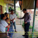 Anggota Provos Polsek Pujon Polres Batu Giat Patroli di perkampungan di wilayah Pujon