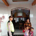 Dalam Rangka Tingkatkan Keamanan Tempat Ibadah, Polsek Junrejo Polres Batu Laksanakan Pengamanan Lokasi