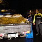 Jaga Kamtibmas, Polsek Junrejo Polres Batu Laksanakan Patroli Malam