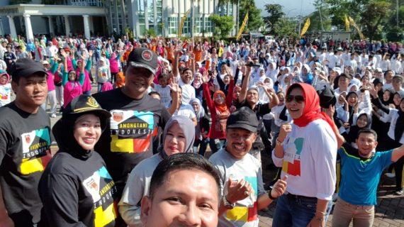 Ajak Pelajar Tertib Berlalu Lintas, Kapolres Batu Gelar Millenial Road Safety Festival