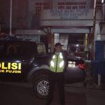 Anggota Polsek Kasembon Polres Batu Patroli Malam Tingkatkan Harkamtibmas