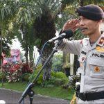 Tingkatkan Semangat Patriotisme, Wakapolres Batu Pimpin Upacara Hari Kesadaran Nasional