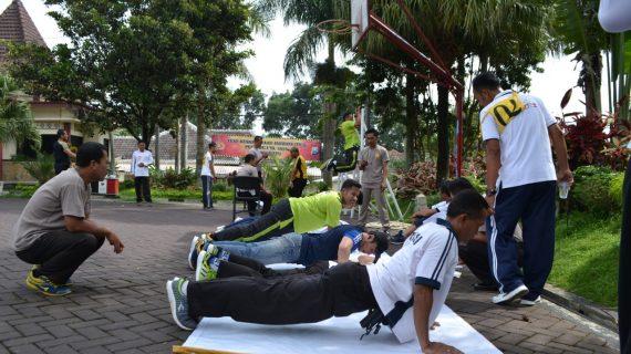TKJ Lanjutan Untuk meningkatkan Ketahanan Tubuh Anggota Polri