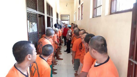 Polres Batu Tingkatkan Kontrol Tahanan