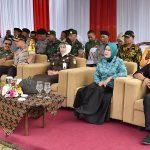 Kapolres Batu dampingi Walikota laksanakan Apel Besar Linmas di Balai Kota Among Tani jelang Pemilu 2019