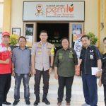 Pastikan logistik Pemilu aman sampai tujuan, Kapolres Batu cek mulai dari KPU sampai tingkat kecamatan dan desa